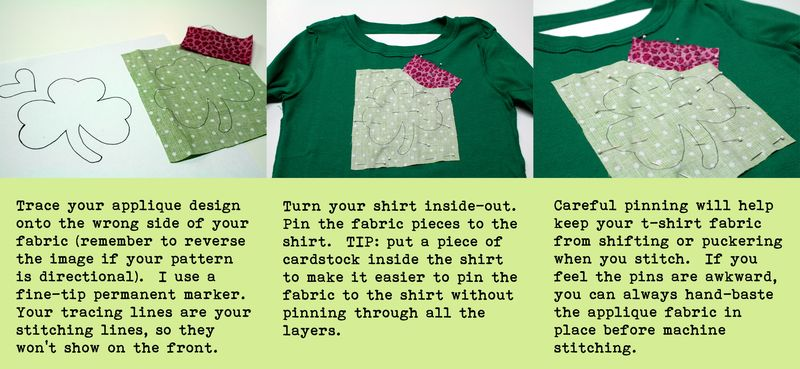 Shamrock Instructions Step 1