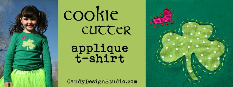 Cookie Cutter Applique Banner