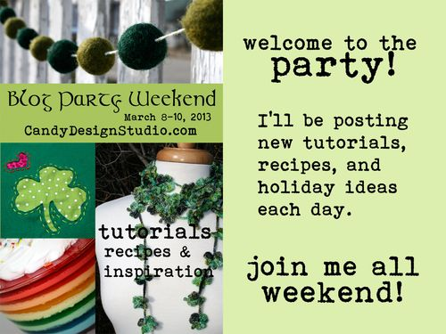 St Patricks Blog Party Header