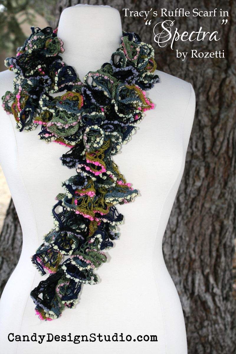 My Multi Ruffle Scarf CITATION