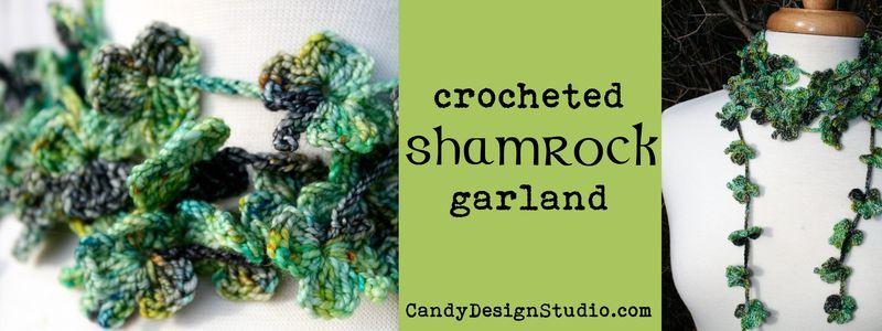 Crochet Shamrock Banner