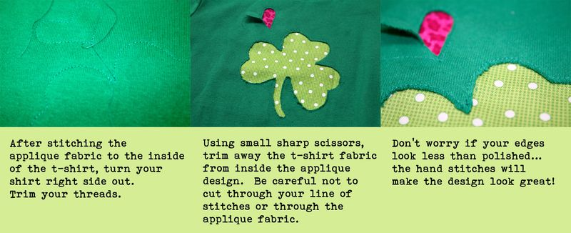Shamrock Instructions Step 3